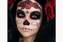 halloween dia de los muertos diy