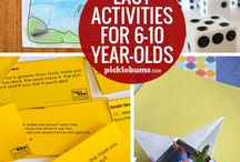 6 year old school activities