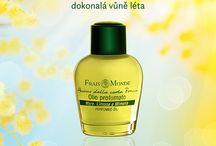 Parfémované oleje / Na český trh přinášíme více než 40 přírodních parfémovaných olejů. Jsou hypoalergenní, bez alkoholu a syntetických konzervantů a mají dlouhotrvající vůni.