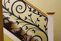 decoración casa escalera
