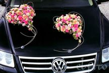 autoversieringen bruiloft