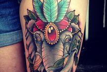 Elefanten Tattoos