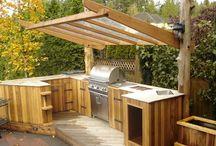 Outdoor kitchen /BBQ area