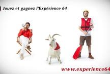 Revenez plus fort de vos vacances  / Gagnez l'Expérience 64 Jouez et gagnez une semaine inoubliable au Pays basque et en Béarn Pyrénées : www.experience64.com
