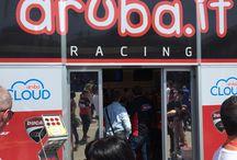 Imola Round con Aruba.it Racing - Ducati Superbike Team / Aruba.it e Aruba Racing Team all'opera durante il round di Imola: tra hospitality, box e torre si scorge l'iniziativa del Concorso per vincere uno Scrambler Ducati!