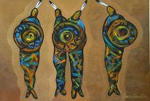 MINIMAL SOUTHWEST ART / Minimal Southwest Art by contemporary Artist Lance Headlee. Originals available at http://lanceheadlee.com