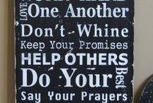 Words of Wisdom / by Becky Keilig