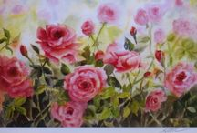 Watercolor Paintings by Pat Fiorello