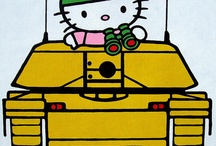 Hello kitty / by Kim Jones