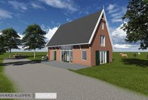 Vrijstaande Woning Hijum / Ontwerp Nieuwbouwwoning te Hijum, Leo Korsten Bouwbedrijf Knol de de Jong www.bernhardkuiper.nl