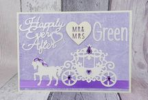 Beautiful purple shades on cards, gifts, home decor, accessories and jewelery