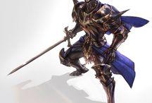 Armor Knight cloak