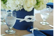 Nautical table settings