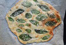 Bread / Basil focaccia