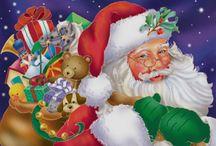 H - Christmas: Santa/Reindeer / by Pamela Gagne-Southern