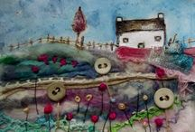 Textile Fabrics & Collage