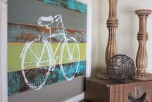 Cycle Themed Furniture / Because we REALLY love bikes!