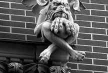 Waterspuwers / gargoyles / grotesques
