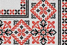 Ukrainian embroidered pattern