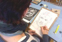 Portré,ceruza,rajz... / Emberek,érzések,grafitcerka..
