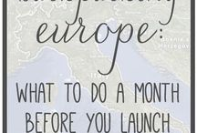 EUROPE! / by Katie