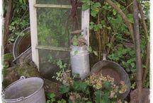 Gartendeko für meine Kräuter