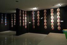 Mini mini birlerin görsel sanat sergisi / Birinci sınıflar yıl sonu gösterileriyle beraber merkez kampüsü fuayesinde iki temadan oluşan görsel sanatlar sergisi açtı.