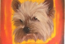 The Fur Kids / Unleash the art in your furry friend with a custom oil painting portrait from The Fur Kids collection.  We work from your favorite fur kid photographs and descriptions to create unique works of art on canvas.  Each eye-catching, hand designed piece is custom commissioned and the final result is a vibrant one-of-a-kind artwork to cherish and enjoy. Visit seekopenskies.com to start your pawtrait!
