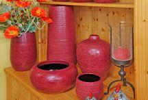 Keramikgefäße / Keramikvasen - Keramikschalen - Keramiktöpfe - Keramikgefäße