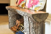 wood log ideas