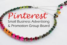 **Small Business Advertising & Promotion Group Board** Pin Exchange / This is a group pin exchange for small business owners to promote their business. ETSY & E-bay welcome! Please pin your own business's pins!  NO spam/nudity/suggestive/excessive/repetitive posts or you will be removed from the board. **For invite please go to my profile (www.pinterest.com/adrienneadelle1) and signup on a the group invite message board** Link here: https://www.pinterest.com/adrienneadelle1/group-board-signup-sheet-for-group-boards-by-flirt/