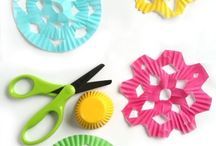 Cutting with Scissors / Variety of great activities and crafts that require children to use scissors.