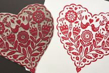 Lino stamps