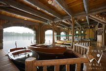 Boathouses / I'd like to see something like this in real life someday