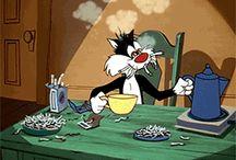 Tipi ja Sylvesteri sekä mummo