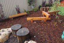 Outdoors - yards and gardens / by Deb Rennie