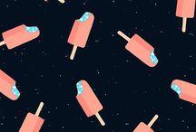 Zeichnung: Eis / Ice Cream