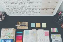 study and inspiration / ▫ системы записывания  ▫ D.I.Y для рабочего стола  ▫ организация рабочего места