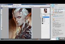 painting tutorials & etc