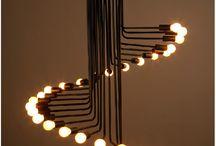 металические люстры