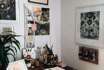 S T U D I O / * creative spaces, tools & process *