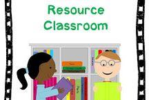 Resource Room Ideas