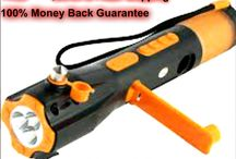 Emergency Flashlight - Window Breaker  For Sale / Emergency Flashlight's for sale for more info  pls contact us at http://goo.gl/3nTWNF .