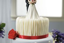 Cake Toppers / A collection of various cake toppers and wedding accessories offered by Center of Attention