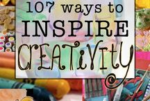 Boost your inspiration and creativity!!!! / Stop stalling and begin to create!