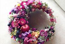 Wreath etc