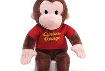 Curious George Plush / Curious George Stuffed Animals