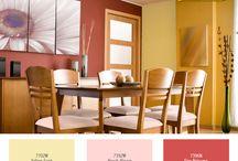 Comedor / #Comedor #Deco #Decoración #Ceresita #CeresitaCL #PinturasCeresita #Colores #Espacio #Ambiente #Pinturas #Tendencia