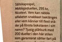 Julklappar & presenter