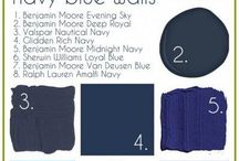 navy blue rooms